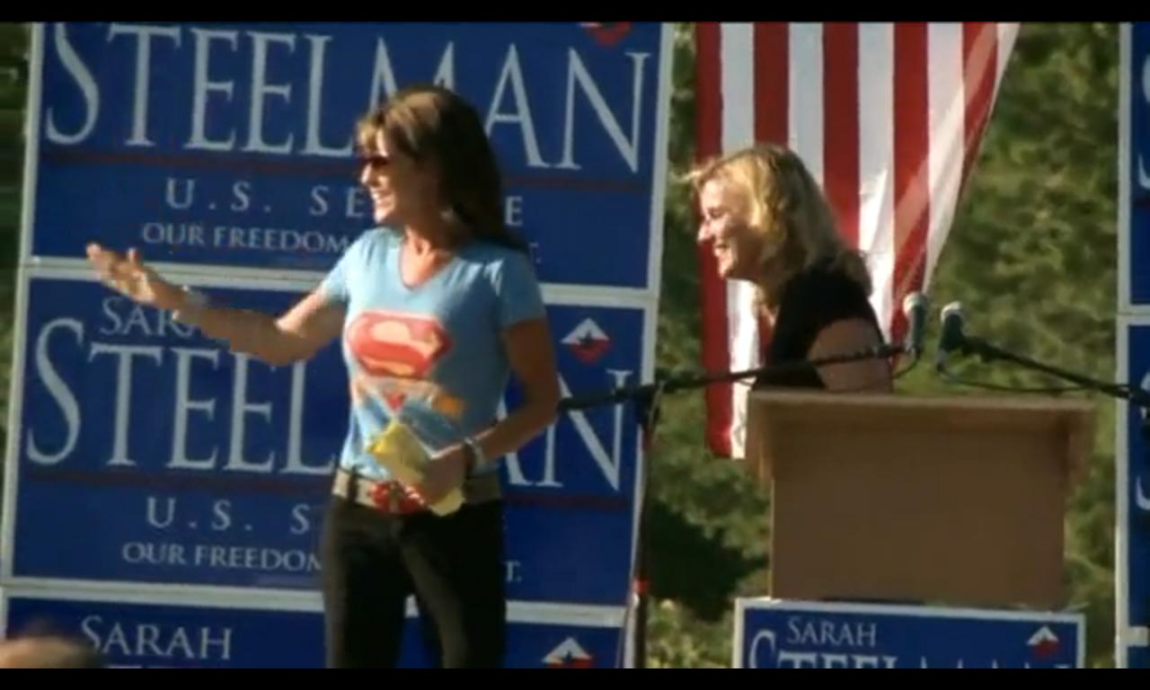Sarah Palin Superman Sarah Palin Dons The H...