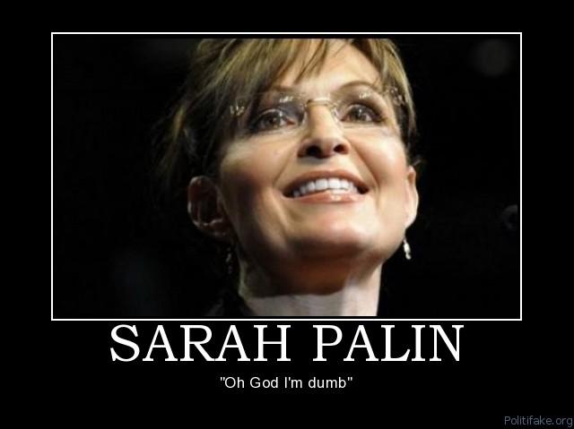 Image result for sarah palin stupid