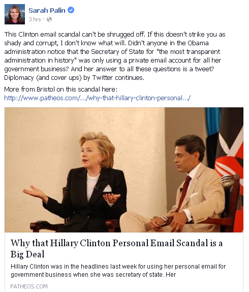 email scandal
