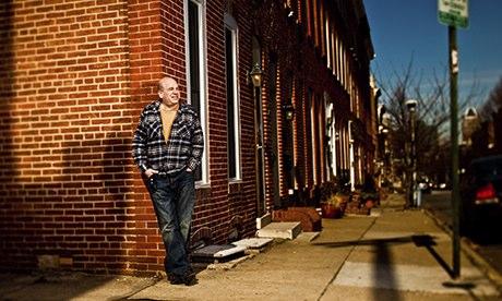 The Wire creator David Simon in Baltimore